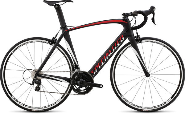 Specialized Venge Elite 105 Color: Satin Carbon/Red/White