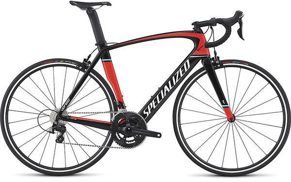 Specialized Venge Elite Color: Gloss Tarmac Black/Rocket Red/Metallic White