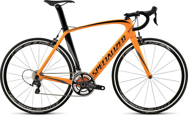Specialized Venge Expert Color: Gloss Gallardo Orange/Black/Charcoal