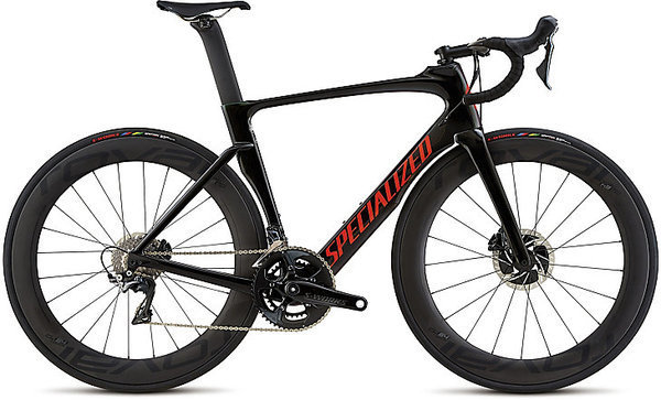 Specialized Venge ViAS Pro Disc Color: Green Chameleon/Tarmac Black Fade/Rocket Red Clean