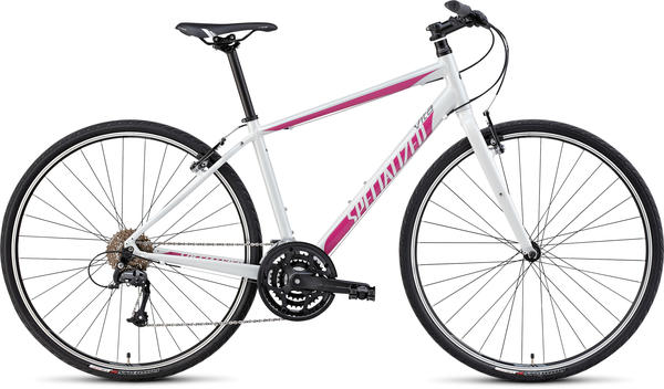 Specialized Vita Sport - Women's Color: Gloss Metallic White/Pink/Charcoal