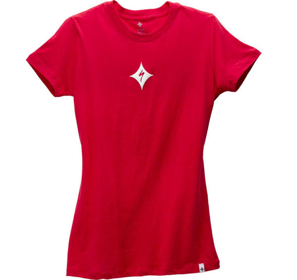 Specialized Brand Tee - Women's Color: Red/White