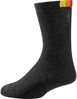 Specialized Winter Wool Sock Color: 74 Black