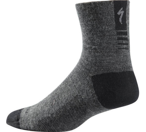 Specialized Light Wool Mid Sock Color: Dark Gray
