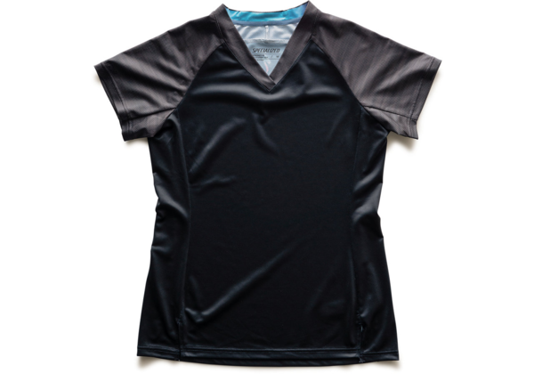 Specialized Women's Andorra Jersey Color: Black/Charcoal Lightspeed
