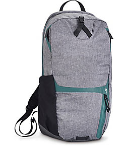 Specialized Women's Base Miles Featherweight Backpack Color: Heather Grey/Turquoise