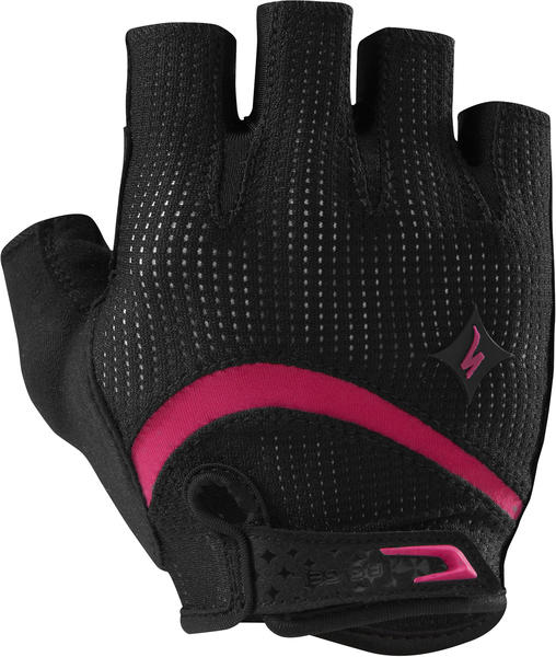 Specialized Women's BG Gel Gloves Color: Black/Pink