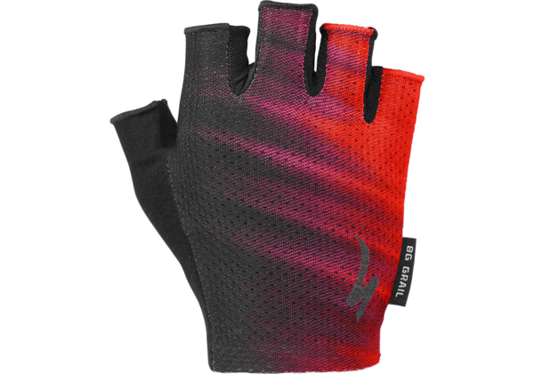 Specialized Women's Body Geometry Grail Gloves Color: Acid Lava/Black Faze