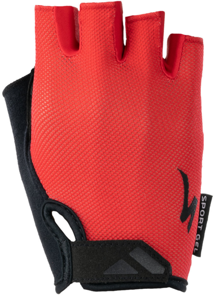 Specialized Women's BG Sport Gel Glove Short Finger Color: Red