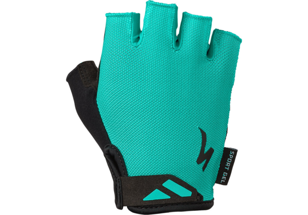 Specialized Women's Body Geometry Sport Gloves Color: Acid Mint