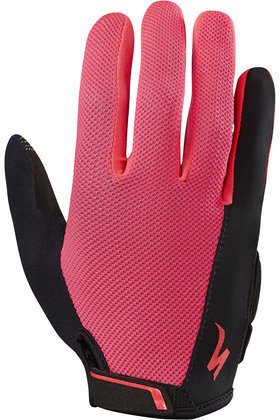 Specialized Women's BG Sport Long Finger Gloves Color: Acid Red