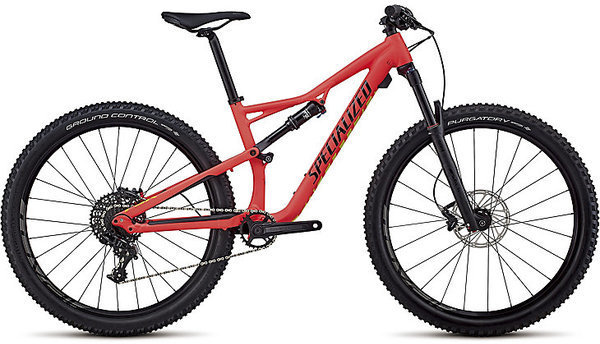 Specialized Women's Camber Comp 27.5 Color: Satin Gloss Acid Red/Limon/Black