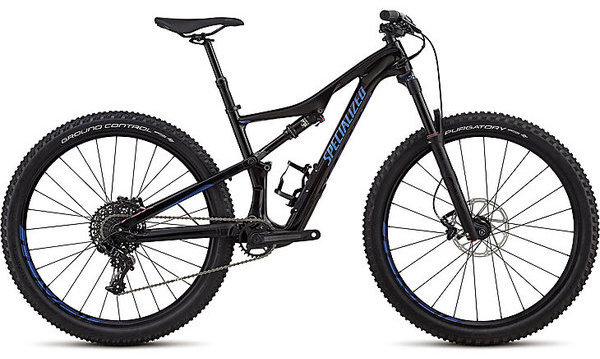 Specialized Women's Camber Comp Carbon 27.5 Color: Gloss Black Tint Carbon/Chameleon