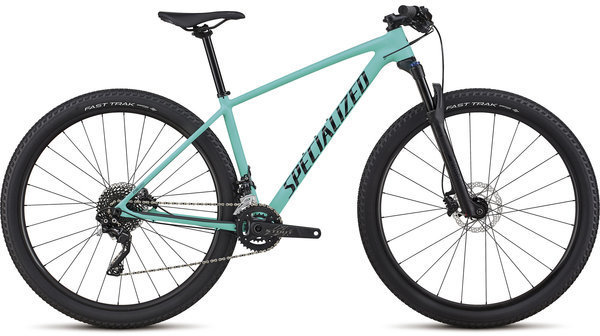 Specialized Women's Chisel Comp Color: Satin Gloss Acid Mint/Black