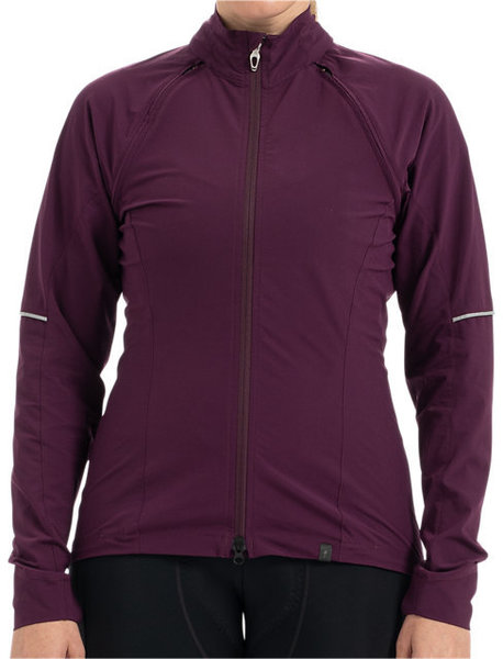 Specialized Women's Deflect Hybrid Jacket Color: Castberry