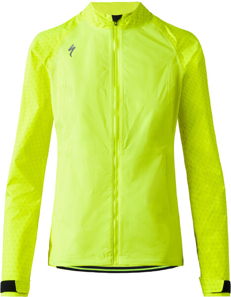 Specialized Women's Deflect Reflect H2O Jacket Color: Neon Yellow Reflective