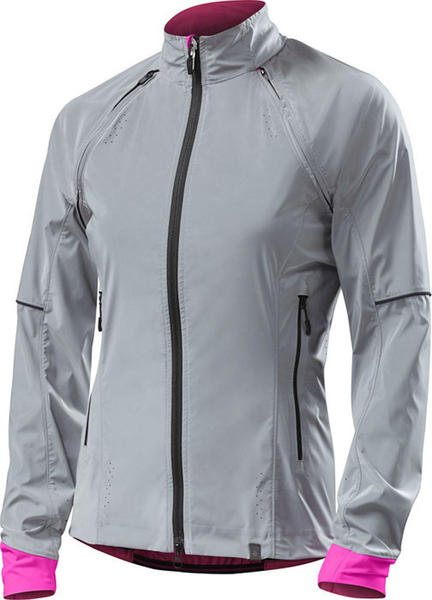 Specialized Women's Deflect Reflect Hybrid Jacket Color: Reflect