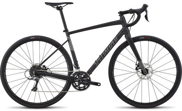 Specialized Women's Diverge E5 Color: Satin Black/Charcoal