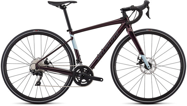 Specialized Women's Diverge E5 Comp Color: Gloss Cast Berry/Storm/Ice Blu