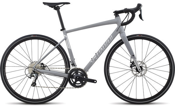 Specialized Women's Diverge E5 Elite Color: Cool Grey/Flake Silver