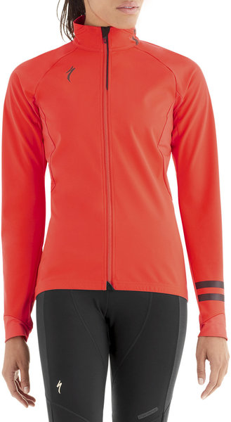 Specialized Women's Element 1.0 Jacket Color: Rocket Red