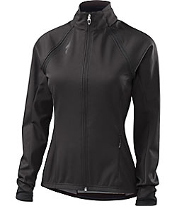 Specialized Women's Element 2.0 Hybrid Jacket Color: Dark Carbon