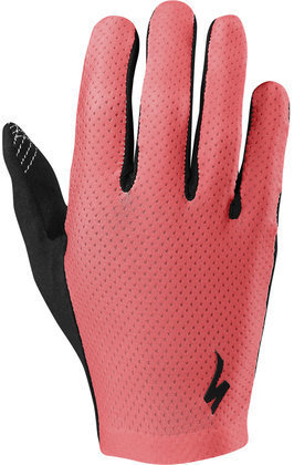 Specialized Women's Grail Long Finger Gloves Color: Acid Red
