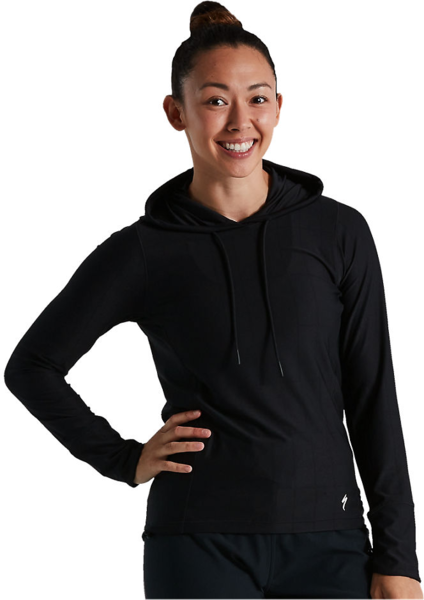 Specialized Women's Legacy Lightweight Hoodie Color: Black
