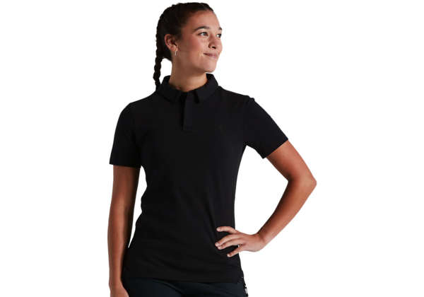 Specialized Women's Legacy Polo Color: Black