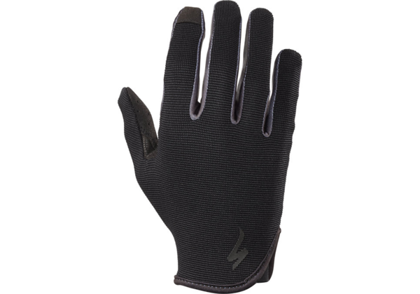 Specialized Women's Lodown Long Finger Gloves Color: Black Mirror