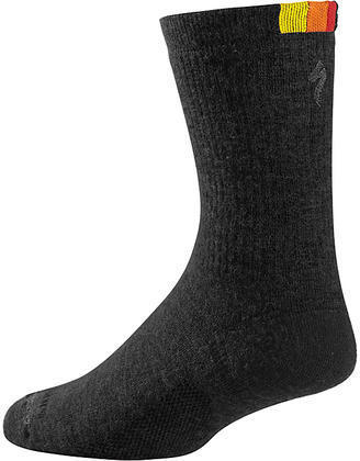 Specialized Women's Merino Tall Socks Color: Black