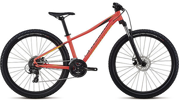 Specialized Women's Pitch 27.5 Color: Gloss Acid Red/Limon/Black Reflective