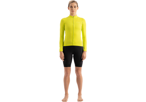 Specialized Women's RBX Classic Jersey Long Sleeve Color: Hyper Green