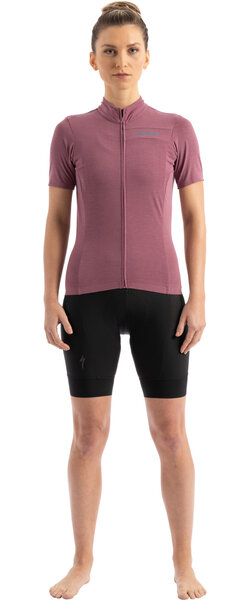 Specialized Women's RBX Merino Short Sleeve Jersey Color: Dusty Lilac