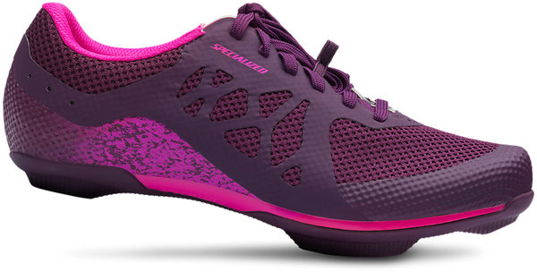 Specialized Women's Remix Road Shoes Color: Cast Berry/Acid Purple