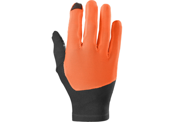 Specialized Women's Renegade Long Finger Gloves Color: Acid Lava