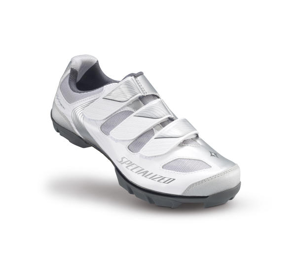 Specialized Riata Mountain Shoes - Women's Color: White/Silver
