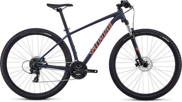 Specialized Women's Rockhopper Color: Satin Gloss Cast Blue/Acid Lava/Clean
