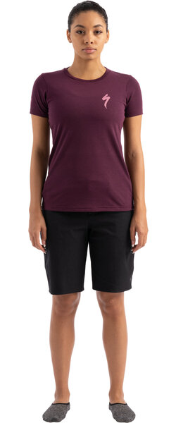 Specialized Women's S-Logo T-Shirt Color: Cast Berry
