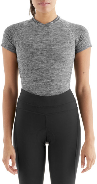 Specialized Women's Seamless Short Sleeve Base Layer Color: Heather Grey