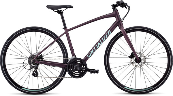 Specialized Women's Sirrus Color: Cast Berry/Mint
