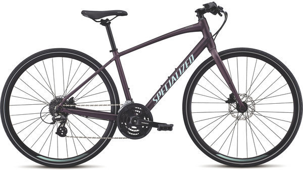 Specialized Women's Sirrus Disc Color: Cast Berry/Mint