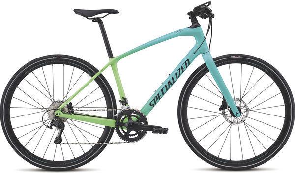 Specialized Women's Sirrus Expert Carbon Color: Cali Fade/Satin Black