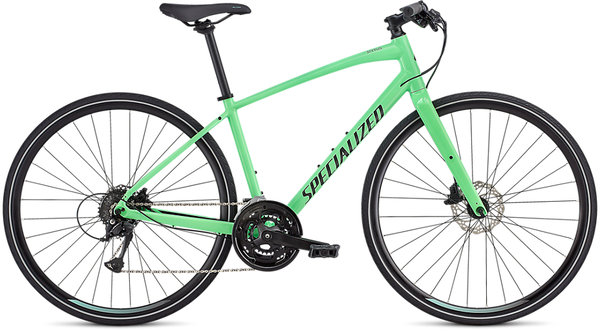 Specialized Women's Sirrus SL Color: Acid Kiwi/Black