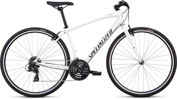 Specialized Women's Sirrus V-Brake Color: Metallic White/Tarmac Black/Floral