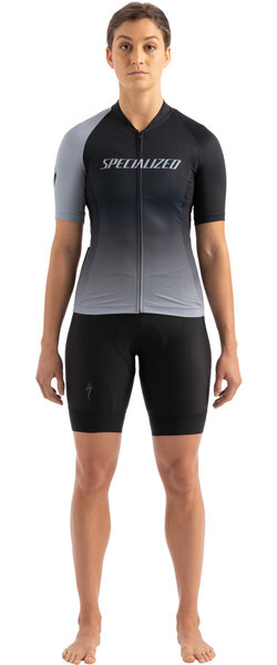 Specialized Women's SL Short Sleeve Jersey Color: Black/Charcoal Team