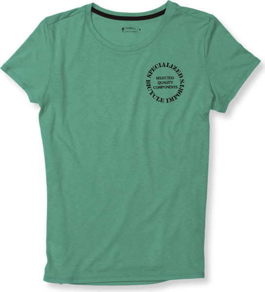 Specialized Women's Standard Original T-Shirt Color: Acid Mint/Black