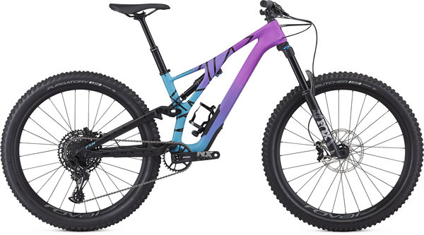 Specialized Women's Stumpjumper Comp Carbon 27.5-Mixtape LTD Color: Mixtape