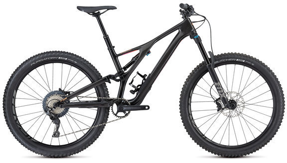 Specialized Women's Stumpjumper Comp Carbon 27.5 Color: Carbon/Acid Purple/Acid Lava