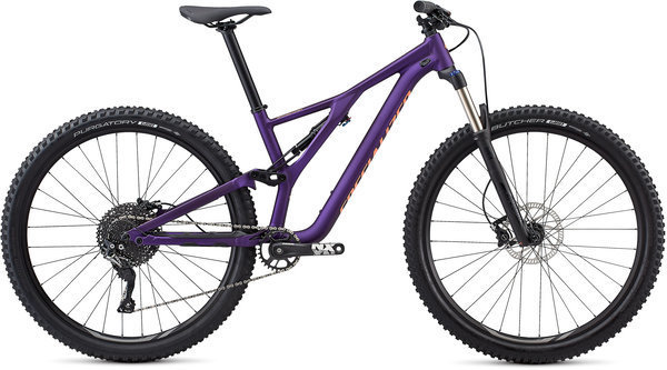 Specialized Women's Stumpjumper ST Alloy 29 Color: Plum Purple/Acid Lava